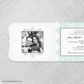 Elegant All In One Invitation With Optional Photo