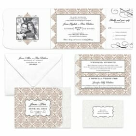 Elegant All Inclusive Invitation Color4