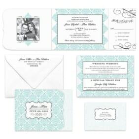 Elegant All Inclusive Invitation Color6