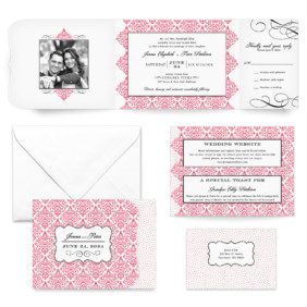 Elegant All Inclusive Wedding Invitation
