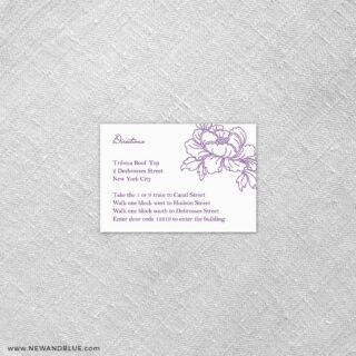 Eloise 7 Reception Card