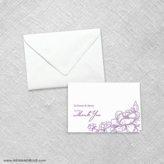 Eloise 8 Thank You Card
