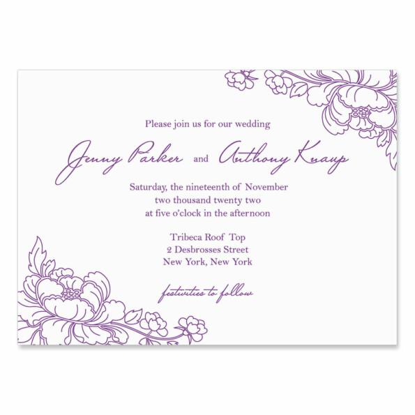 Eloise Wedding Invitation