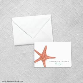 Emerald Isle 8 Thank You Card