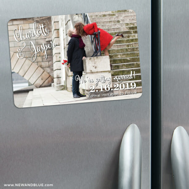 Enchanted 3 Refrigerator Save The Date Magnets1