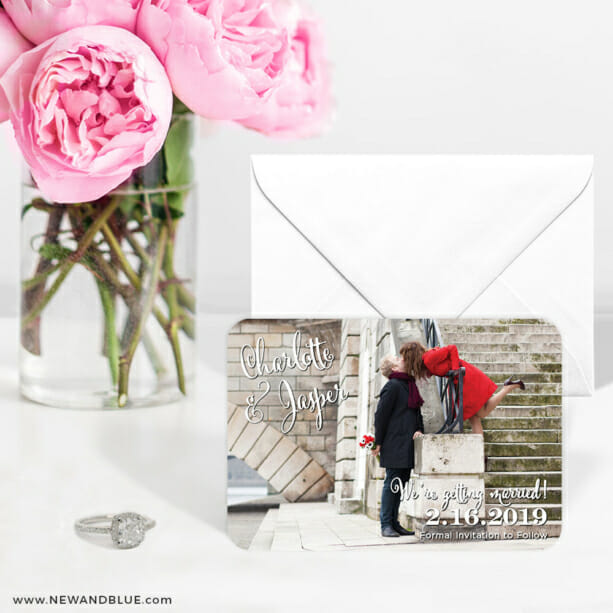 Enchanted 6 Wedding Save The Date Magnets1