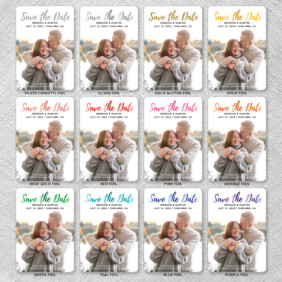Endless Love 9 Foil Color Options