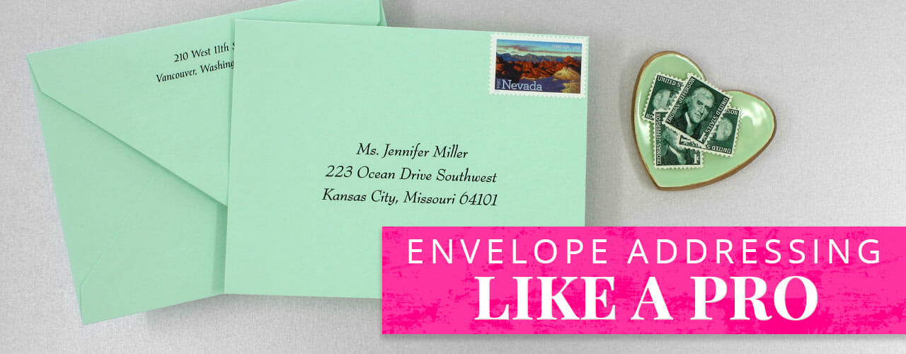 Envelope Addressing Like A Pro