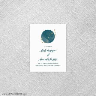 Estrella 7 Reception Card