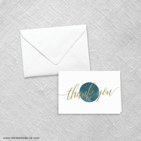 Estrella 8 Thank You Card
