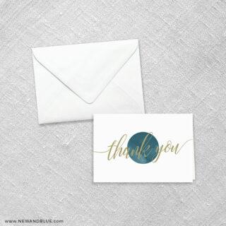 Estrella 8 Thank You Card