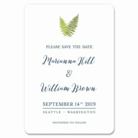 Fern 1 Save The Date Magnets