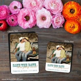 Field Of Dreams 2 Save The Date Magnet Classic And Petite Size1