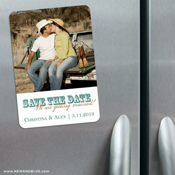 Field Of Dreams 3 Refrigerator Save The Date Magnets1