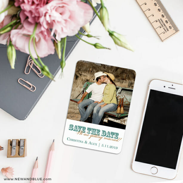 Field Of Dreams 7 Wedding Save The Date Magnets1