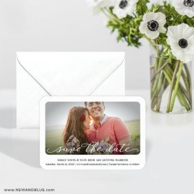 Florence 6 Wedding Save The Date Magnets