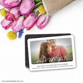 Florence 7 Wedding Save The Date Magnets