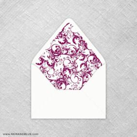 Flourish 9 Envelope Liner