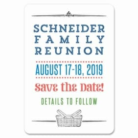 Gather 1 Save The Date Magnets