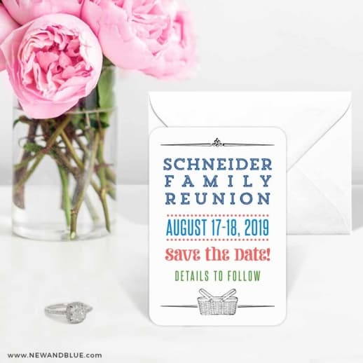 Gather 6 Wedding Save The Date Magnets
