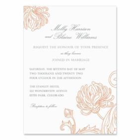 Gatsby Wedding Invitation
