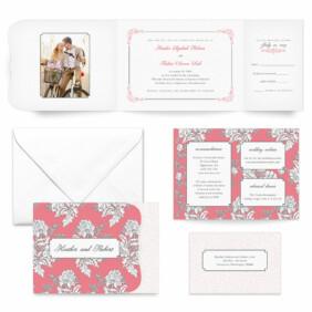 Genoa All Inclusive Wedding Invitation