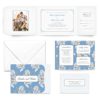 Genoa All Inclusive Wedding Invitation