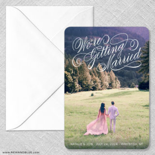 Getting Married No Foil Classic Magnet