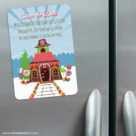 Gingerbread House 3 Refrigerator Save The Date Magnets1