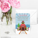 Gingerbread House 6 Wedding Save The Date Magnets1