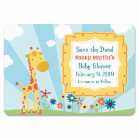 Giraffe 1 Save The Date Magnets1