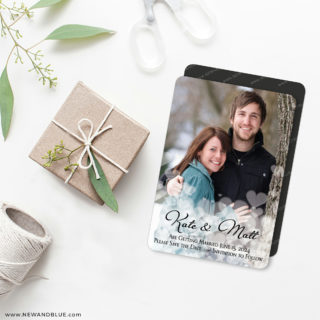 Glistening Hearts 4 Wedding Magnet