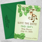 Going Bananas 5 Save The Date With Optional Color Envelope1