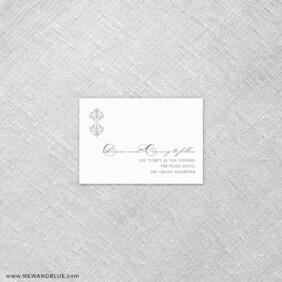 Gramercy Park 7 Reception Card