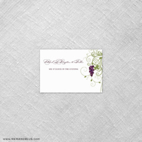 Grapevine 7 Reception Card