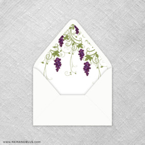 Grapevine 9 Envelope Liner