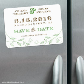 Happy Day 3 Refrigerator Save The Date Magnets1