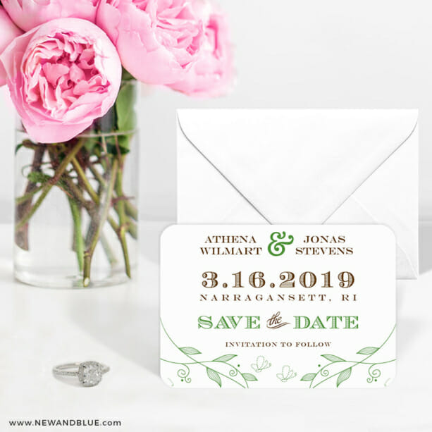 Happy Day 6 Wedding Save The Date Magnets1
