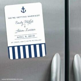 Harborside 3 Refrigerator Save The Date Magnets