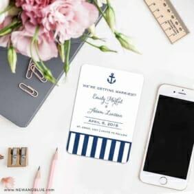 Harborside 7 Wedding Save The Date Magnets