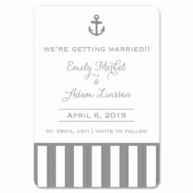 Harborside 1 Save The Date Magnets