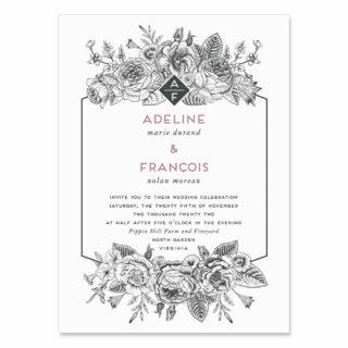 Harlow Wedding Invitation