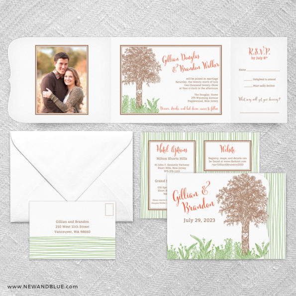 Hope All In One Wedding Invitation Suite