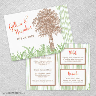 Hope Allinone Wedding Invitation Set
