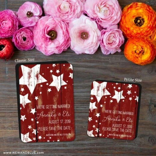 In The Stars 2 Save The Date Magnet Classic And Petite Size