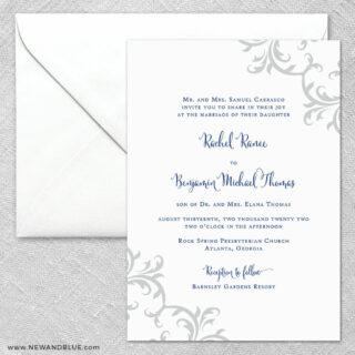 Isabella 2 Invitation And Envelope