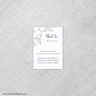 Isabella 7 Reception Card
