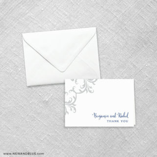 Isabella 8 Thank You Card