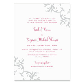Isabella Wedding Invitation