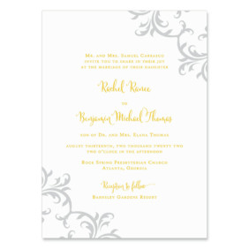 Isabella Wedding Invitation